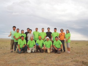 岡山理科大学ーモンゴル共同調査隊